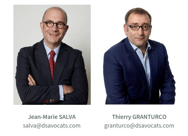 Jean-Marie Salva And Thierry Granturco