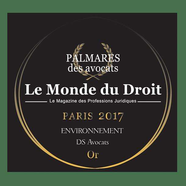 Palmarès des Avocats 2017 -  Le Monde du droit